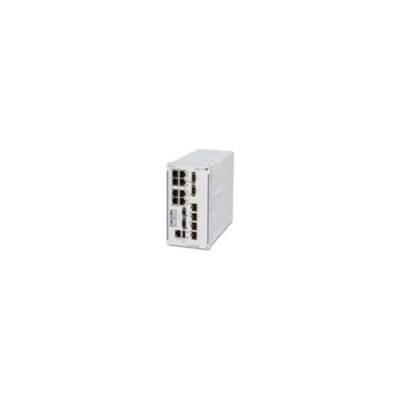 Hardened GigE fan-less switch. 8x10/100/1000 BaseT RJ-45 PoE+ (4