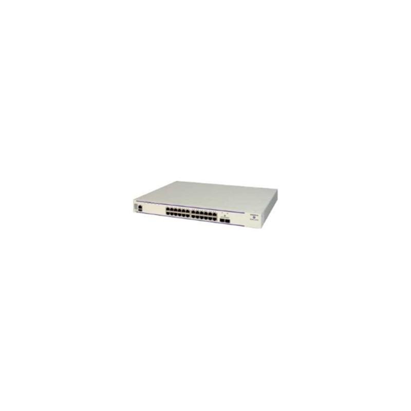 OS6450-P24X Gigabit Ethernet 1RU chassis. 24 PoE 10/100/1000Base