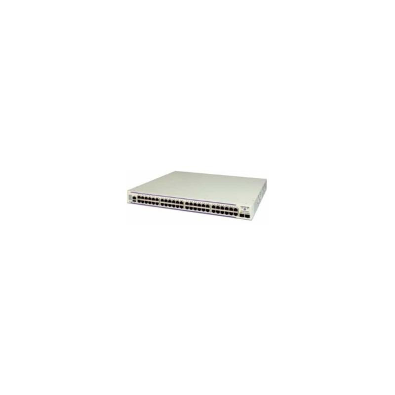 OS6450-48 Gigabit Ethernet 1RU chassis. 48 10/100/1000 BaseT, 2