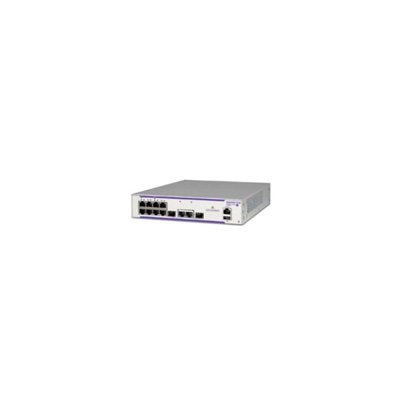OS6350-P10 GE fixed chassis with 8 x PoE+ RJ-45 10/100/1000 Base
