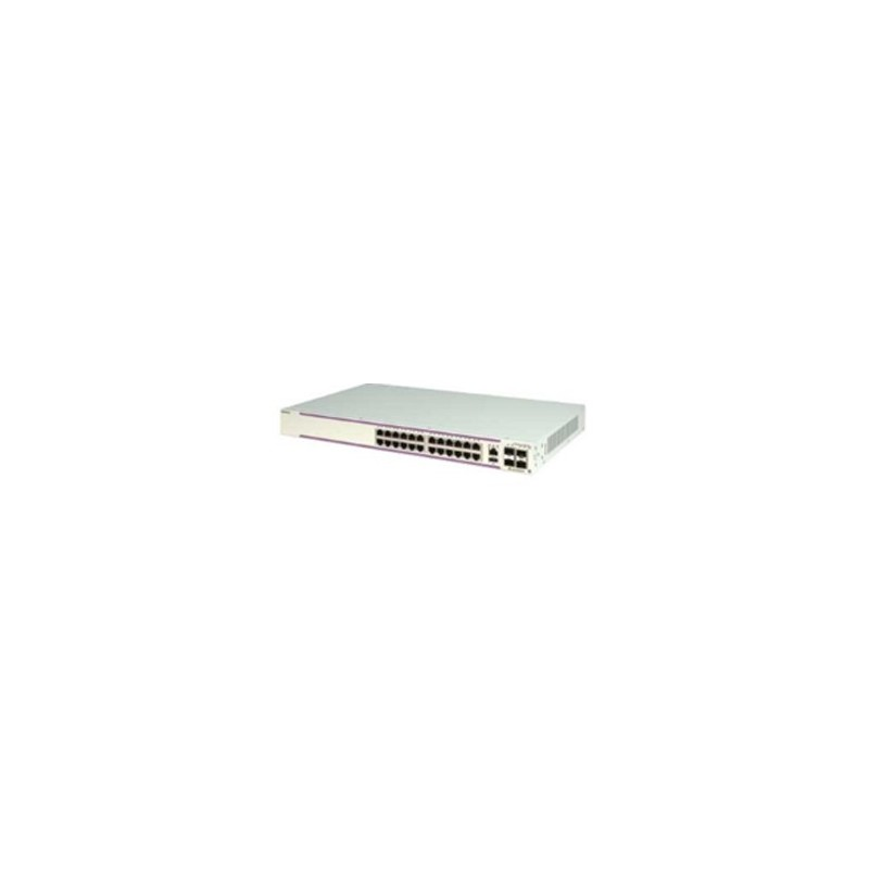 OS6350-P24 Gigabit Ethernet 1RU chassis with 24 PoE 10/100/1000