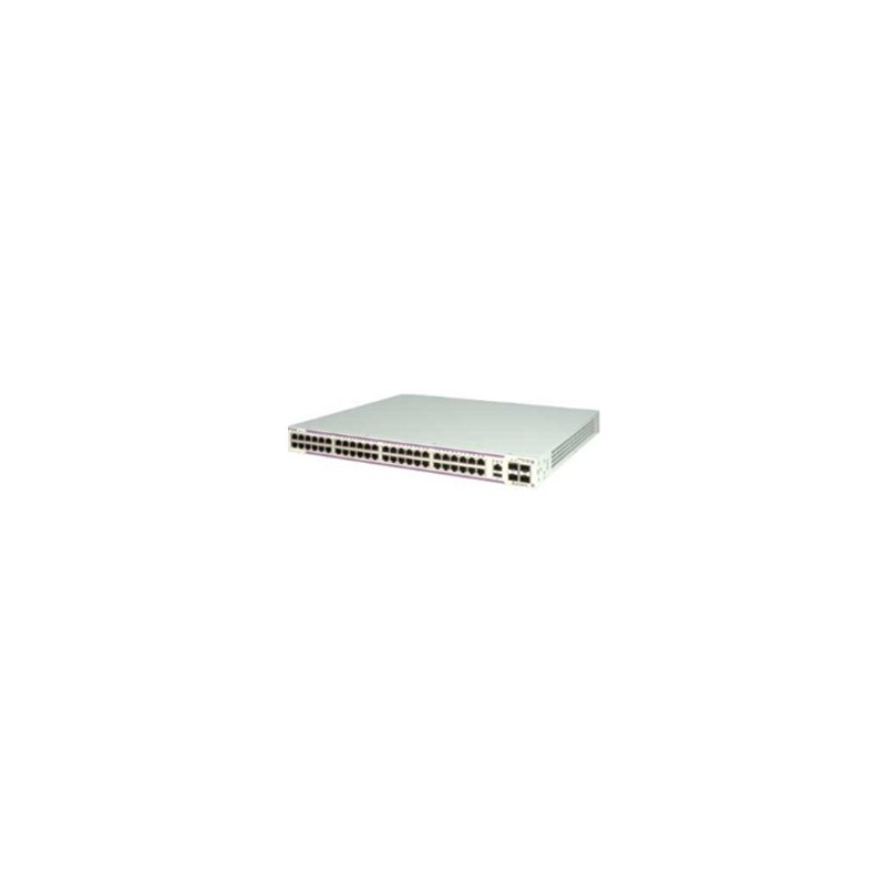 OS6350-P48 Gigabit Ethernet 1RU chassis with 48 PoE 10/100/1000