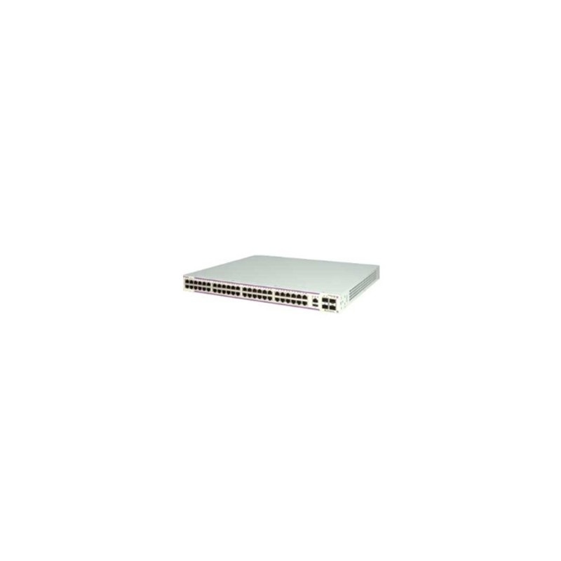 OS6350-48 Gigabit Ethernet standalone chassis in a 1U form facto