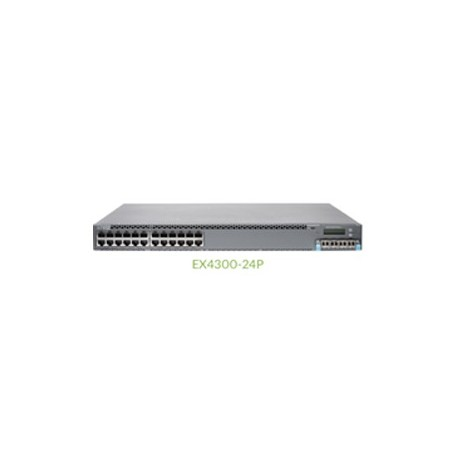 JUNIPER EX4300 24-port 10/100/1000BASE-T PoE-pl