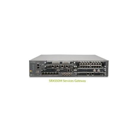 JUNIPER SRX550M Services Gateway with 4