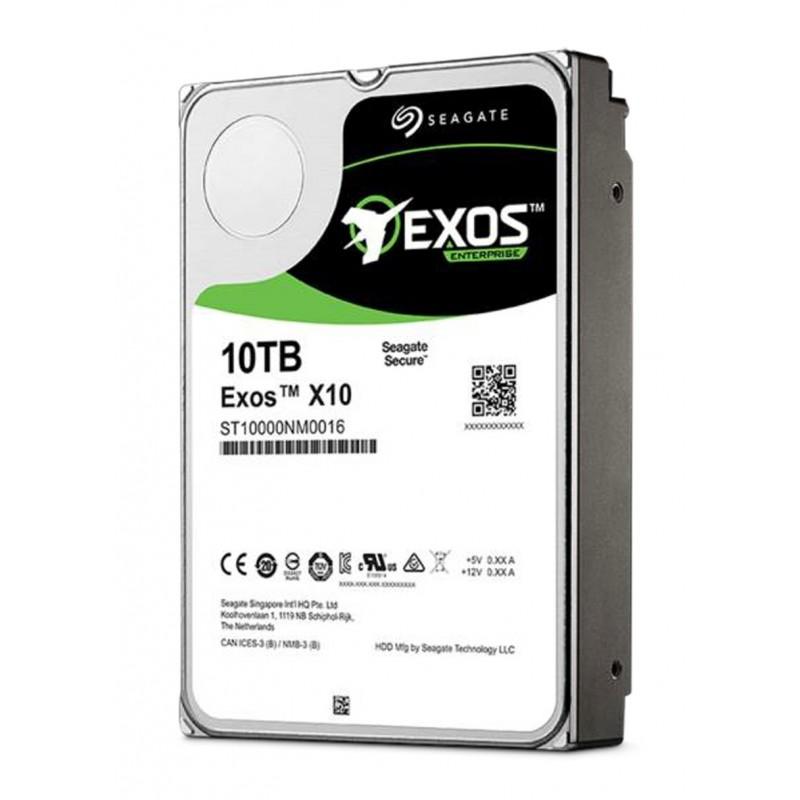 Seagate Enterprise 10 TB 3.5 Inch -Exos X10 - SATA