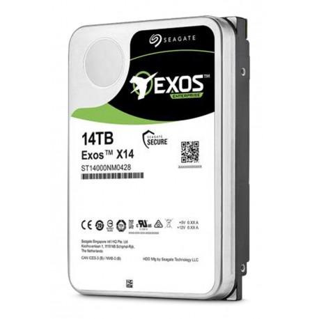 Seagate Enterprise 12 TB 3.5 Inch -Exos X14 & Exos X14z - SATA