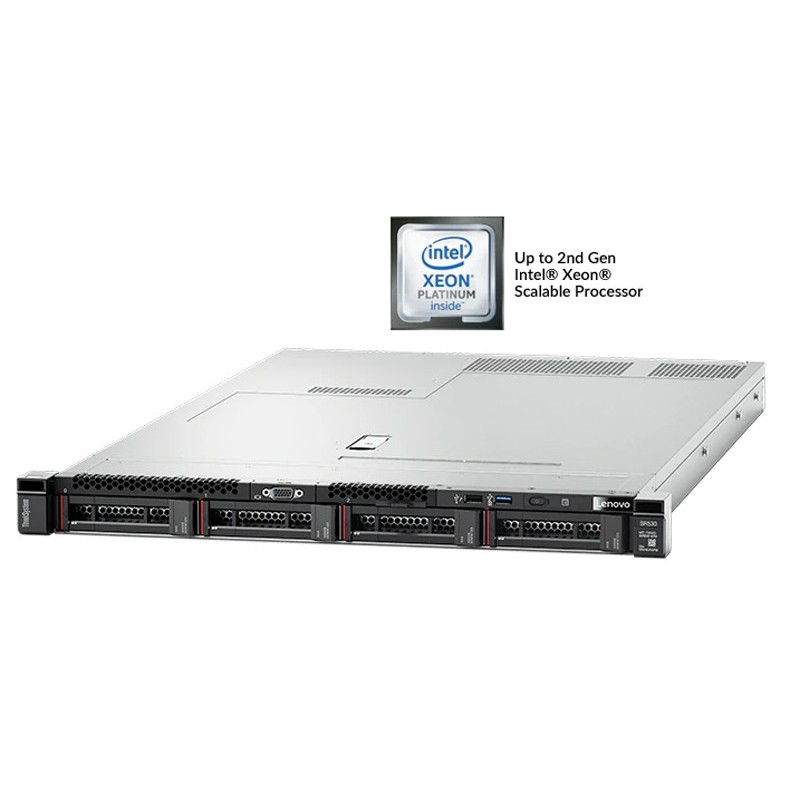 LENOVO ThinkSystem SR530, Rack 1U Dual Socket