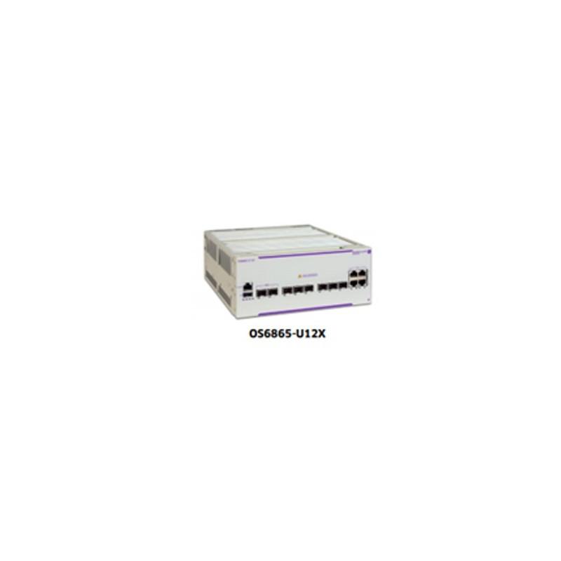 OS6865-U12x Hardened Gigabit Ethernet L3 chassis 4 RJ-45 100/100