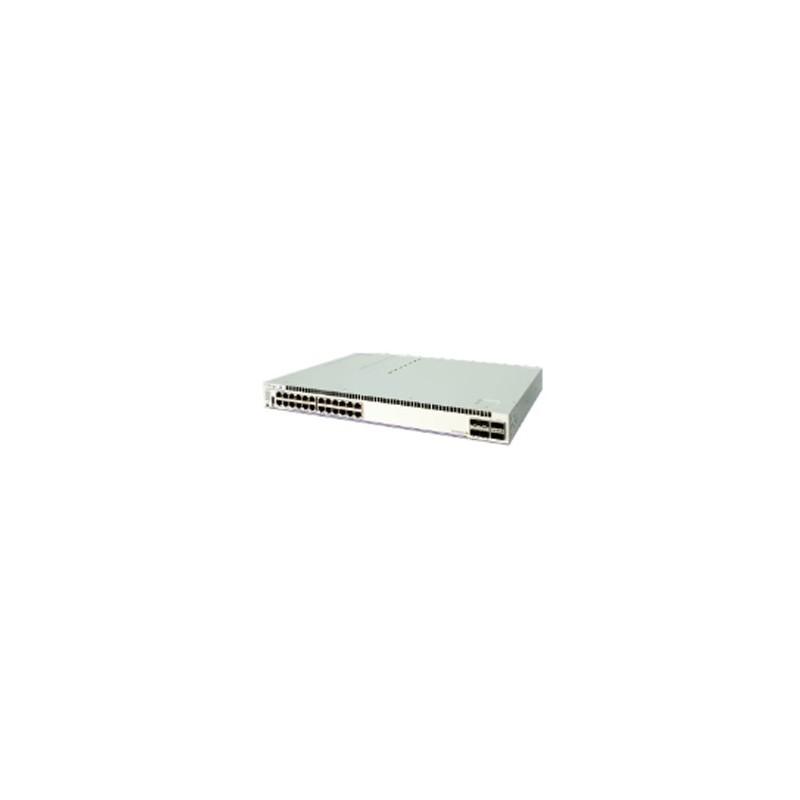 OS6860-24 Gigabit Ethernet L3 1RU chassis. 24 RJ45 10/100/1000 B